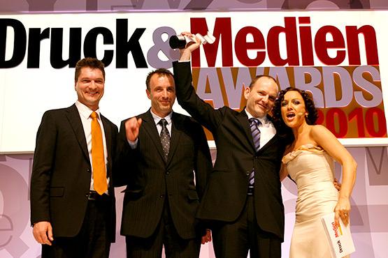 Druck und Medien Award:  Zeitungsdrucker 2010