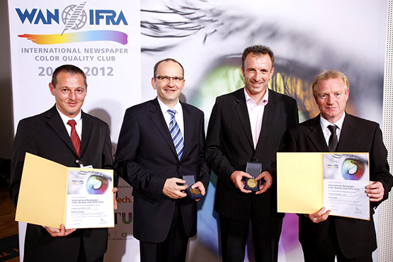 WAN IFRA Color Quality Club 2010-2012