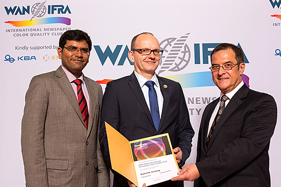 WAN IFRA Color Quality Club 2014-2016