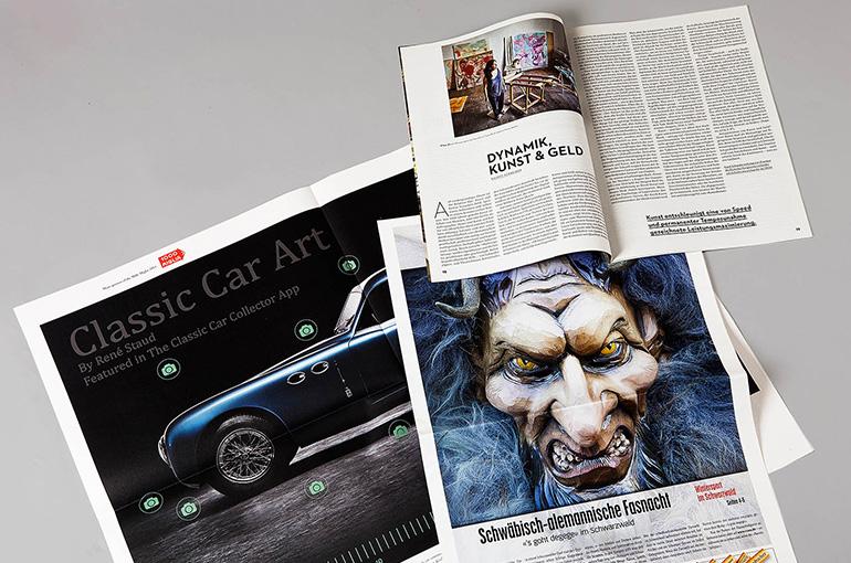 Zeitschriften und Magazine mit-ohne Glanzumschlag, geheftet und geschnitten - Bild 2