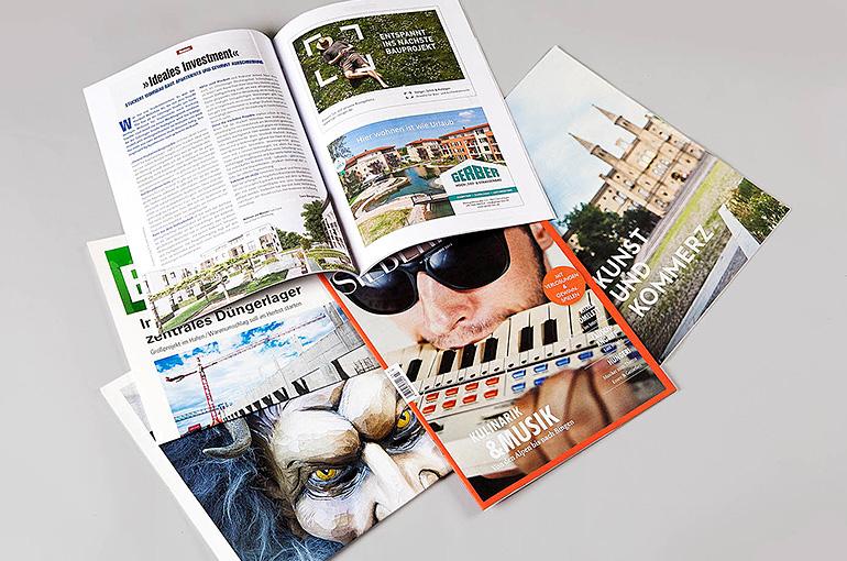 Zeitschriften und Magazine mit-ohne Glanzumschlag, geheftet und geschnitten - Bild 1